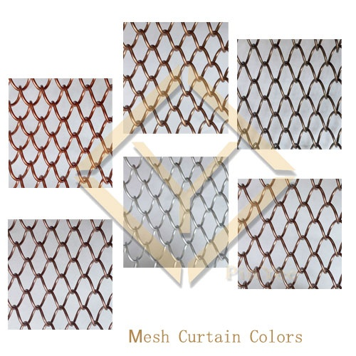 Mesh Curtain Detail