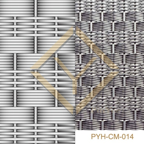 elevator cap/car interior decorative mesh