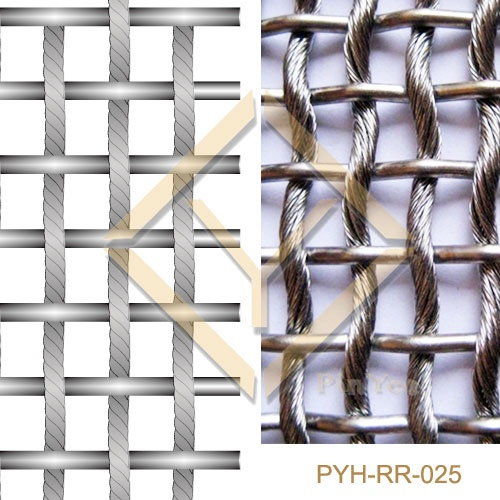 Interior ornament Woven Rope Mesh