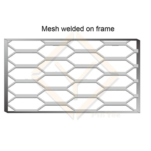 Matching Mesh room Dividers