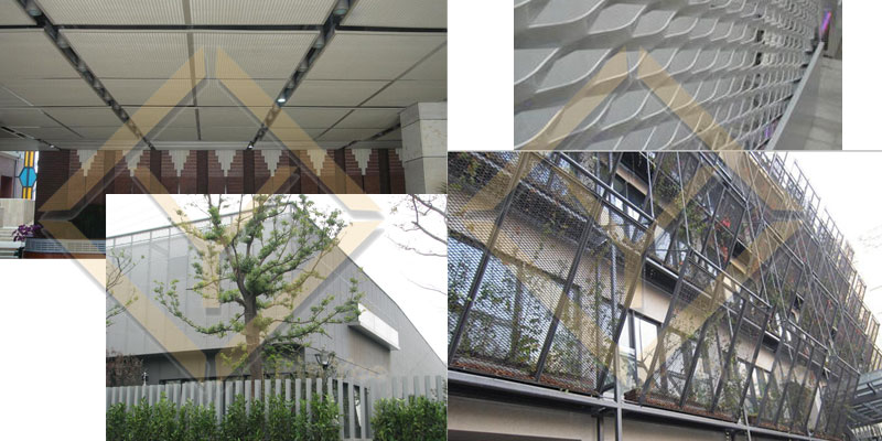 architectural expanded metal mesh project