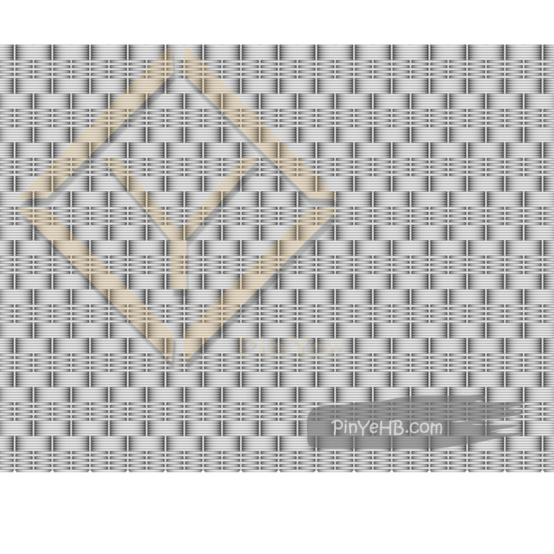 elevator interior cap decorative material woven metal mesh
