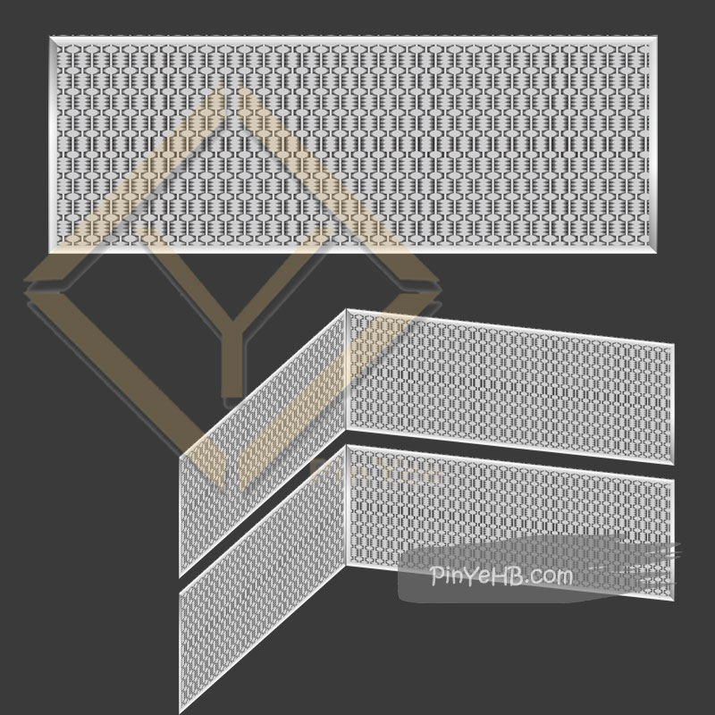 insulation the luxury crimped woven metal mesh for interior decorative