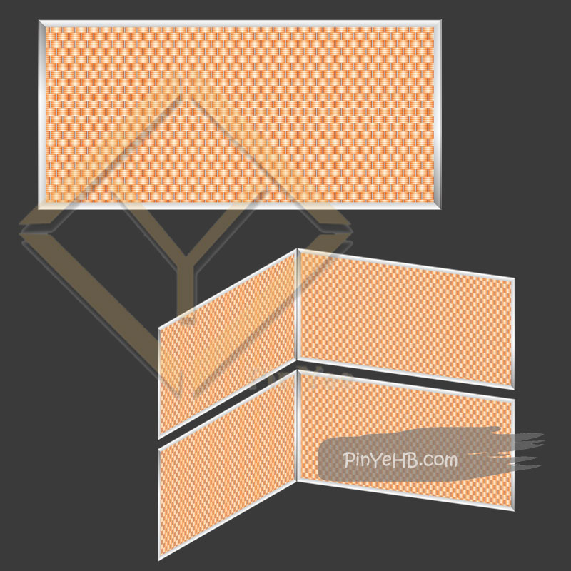 facade decorative material woven metal mesh specifications