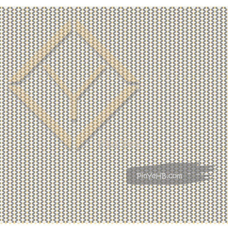 Detail of wall cladding metal mesh woven panel for nightclub