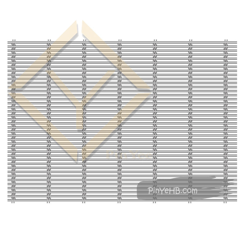 Detail of PinYee Hebei Facade Wire Rope Mesh curtain
