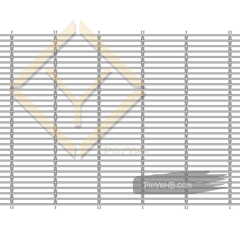 Stainless Steel Architectural Woven Mesh use as Curtain Wall