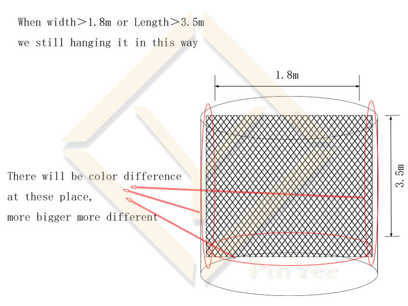 decorative mesh PVD coating details