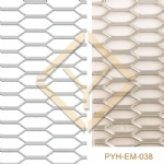 Hexagon Aluminum Expanded Mesh for architectural